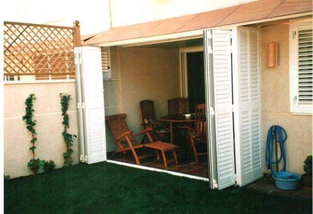persianas mallorquinas para cerramientos de terrazas