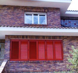 Las persianas mallorquinas y los paneles japoneses