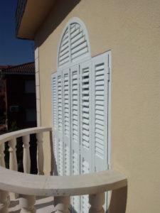 persianas mallorquinas para cerrar terrazas
