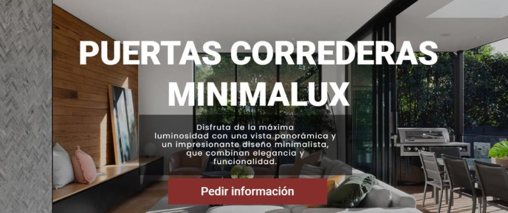 Contacto puertas minimalistas