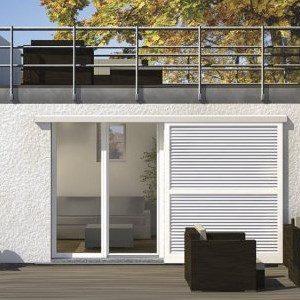 Persiana minimalista de exterior